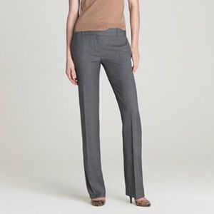 J. Crew 1035 Super 120's Gray Trousers Size 6P